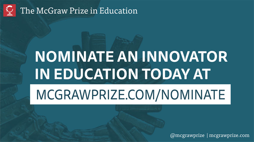 Nominate an Innovator in Education