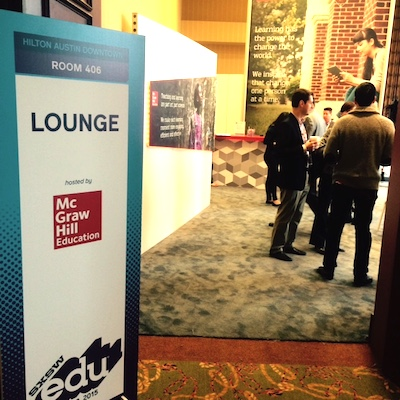 McGraw-Hill SXSWedu lounge