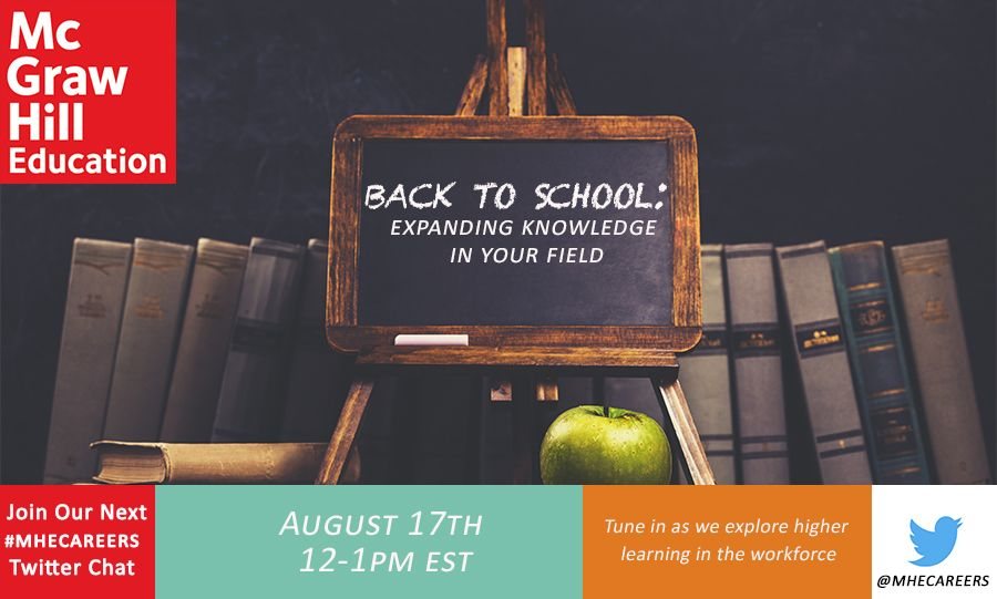 MHE August Twitter Chat