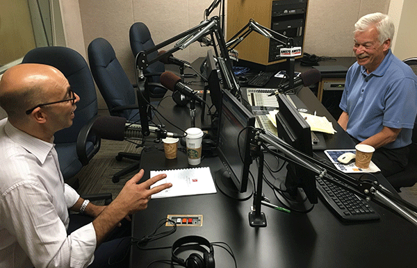 David Levin and Denver Frederick on The Business of Giving radio show