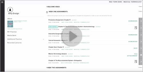 Completing Assigned LearnSmart Modules