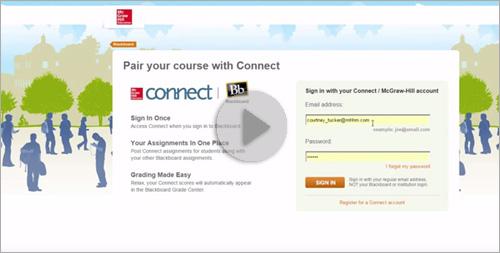 Connect & Blackboard Integration