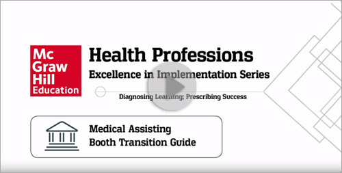 Medical Assisting: Booth Transition Guide