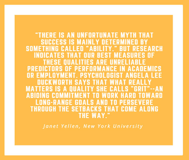 Inspiring Quote by Janet Yellen