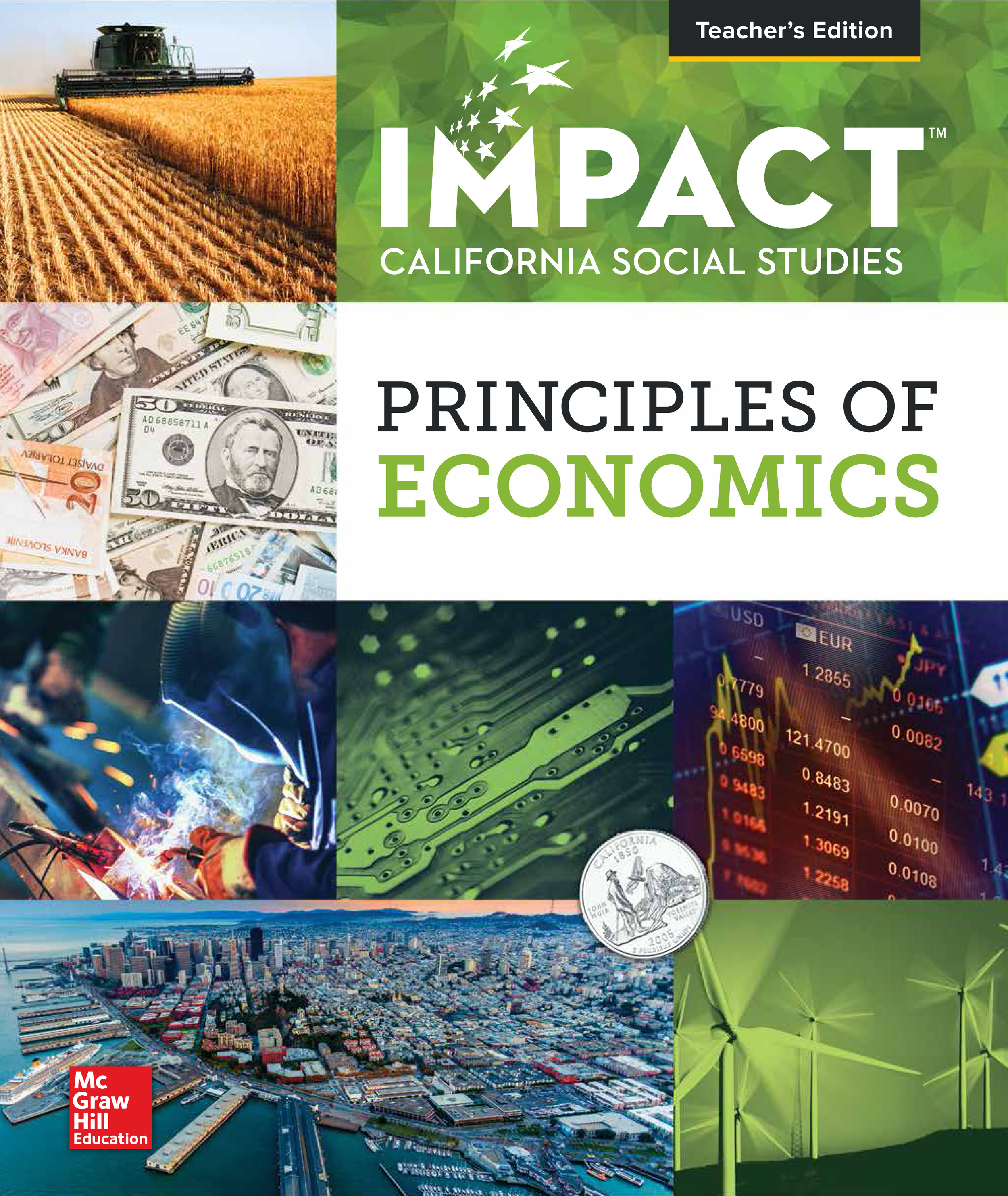 Principles of Economics Teacher's Edition cover
