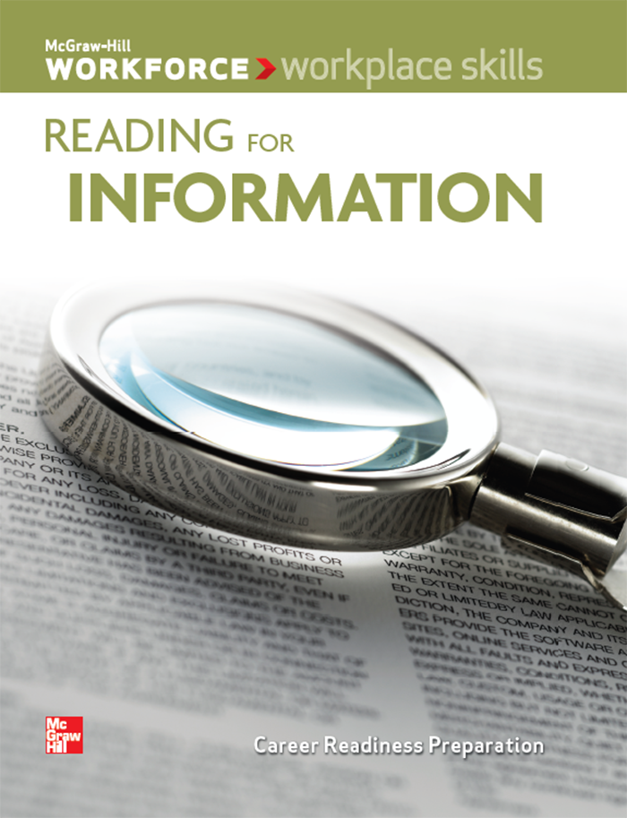 Reading for Information cover