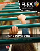 FLEX Literacy Project Guide cover, Elementary