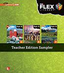 FLEX Literacy cover Teacher Edition Sampler cover, Secondary