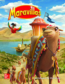 Maravillas Literature Anthology cover, Grade 3