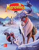 Maravillas Literature Anthology cover, Grade 5