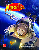 Maravillas Literature Anthology cover, Grade 6