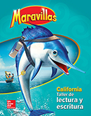 Maravillas Reading/Writing Workshop cover, Grade 2