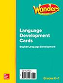ELD Language Development Cards, Grades K-1