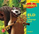 My Language Book cover, Grade K