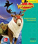 ELD Teacher Edition cover, Grade 5