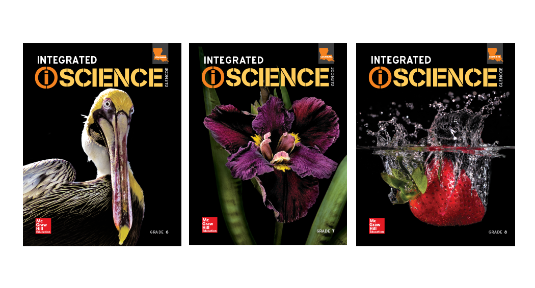 LA Integrated iScience covers