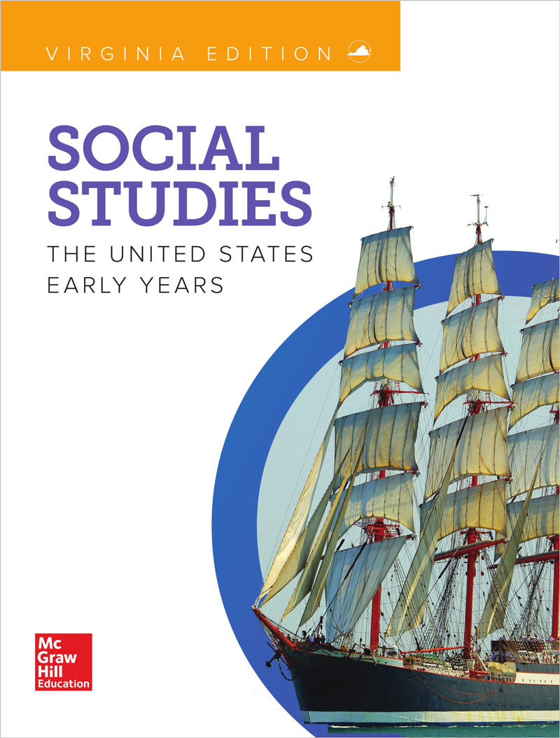 Social Studies The United States Early Years cover