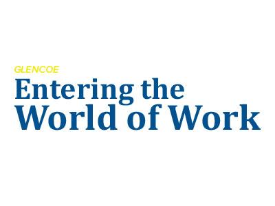 Entering the World of Work Logo