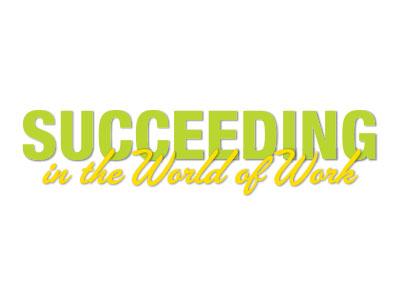 Succeeding in the World of Work Logo